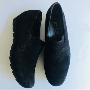 Paul Green Munchen Slip On Mini Wedge Loafer Shoes
